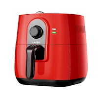 Modern Multifunctional Oil-Less Air Fryer in Red 3L