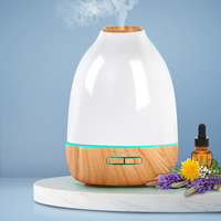 4-in-1 Ultrasonic Aroma Diffuser - Light Wood 500ml