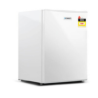 2-in-1 Portable Bar Fridge & Freezer in White 70L