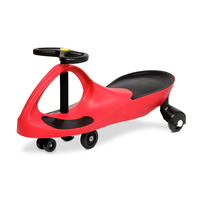 Ride On Swing Car w/ Pedal Free Design in Red 79cm