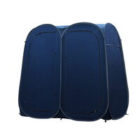 Double Portable Changing Room Shower Tent in Navy