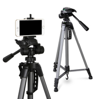 Professional Extendable Camera & Phone Tripod 1.45m