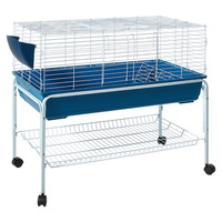 Large Sized Guinea Pig Rabbit Hutch with Stand