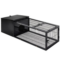 Medium Size Weather Proof Rabbit Hutch w/ Run 120cm