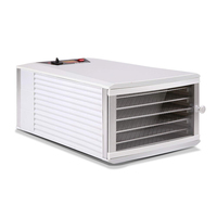 Stainless Steel Food Dehydrator with 6 Trays 650W