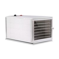 Stainless Steel Food Dehydrator with 8 Tray 650W