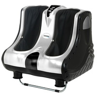 4 Motor Electric Calf & Foot Massager in Silver 80W