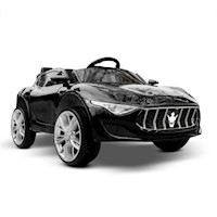 Kids Musical Electric Ride On Sports Car in Black
