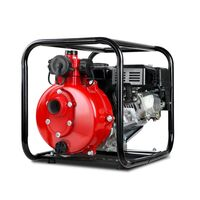 Twin Impeller High Pressure Water Pump in Red 8HP