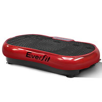Everfit Exercise Vibration Machine Dark Red 1000W