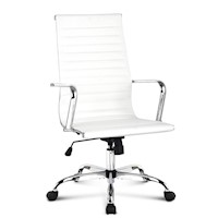 Replica Eames High Back Office Chair in White 110cm