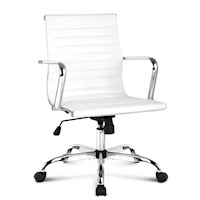 Replica Eames High Back Office Chair in White 98cm