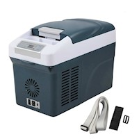 Portable Camping Fridge Freezer Cooler Box 15L