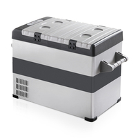 Portable Camping Fridge Freezer Cooler Box 55L