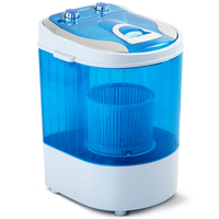 Portable Washing Machine and Spin Dry in Blue 4kg