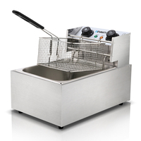 5 Star Chef Commercial Deep Fryer w/ Single Basket