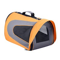 Travel Dog Cat Pet Soft Crate Carrier XL Orange