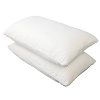Giselle Bedding Set of 2 Visco Elastic Memory Foam Pillows
