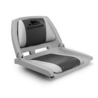 Swivel Folding Marine Boat Seats Grey Charcoal
