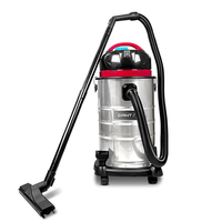 Commercial Bagless Wet & Dry Vacuum Cleaner Silver