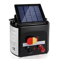 Solar Power Electric Fence Energiser Charger 5km