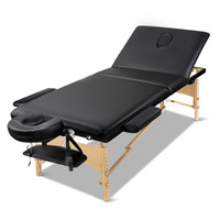 3 Fold Portable Firm and Fold Massage Table 70cm