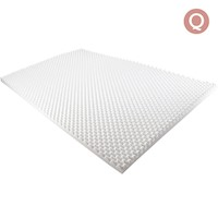 Deluxe Egg Crate Mattress Topper 5cm Queen