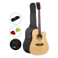 6 Steel String 45in Electric Acoustic Guitar Pack