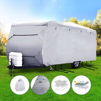 4 Layers 4 Side Open Caravan Cover Straps 22-24FT