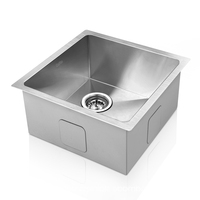 Stainless Steel Sink w/ Waste Strainer 510 x 450mm
