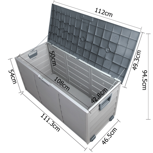 290l Weatherproof Outdoor Storage Box Buy Outdoor