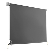 Outdoor blinds buy outdoor blinds to hide from the sun 3m x 25m retractable roll down awning grey solutioingenieria Gallery