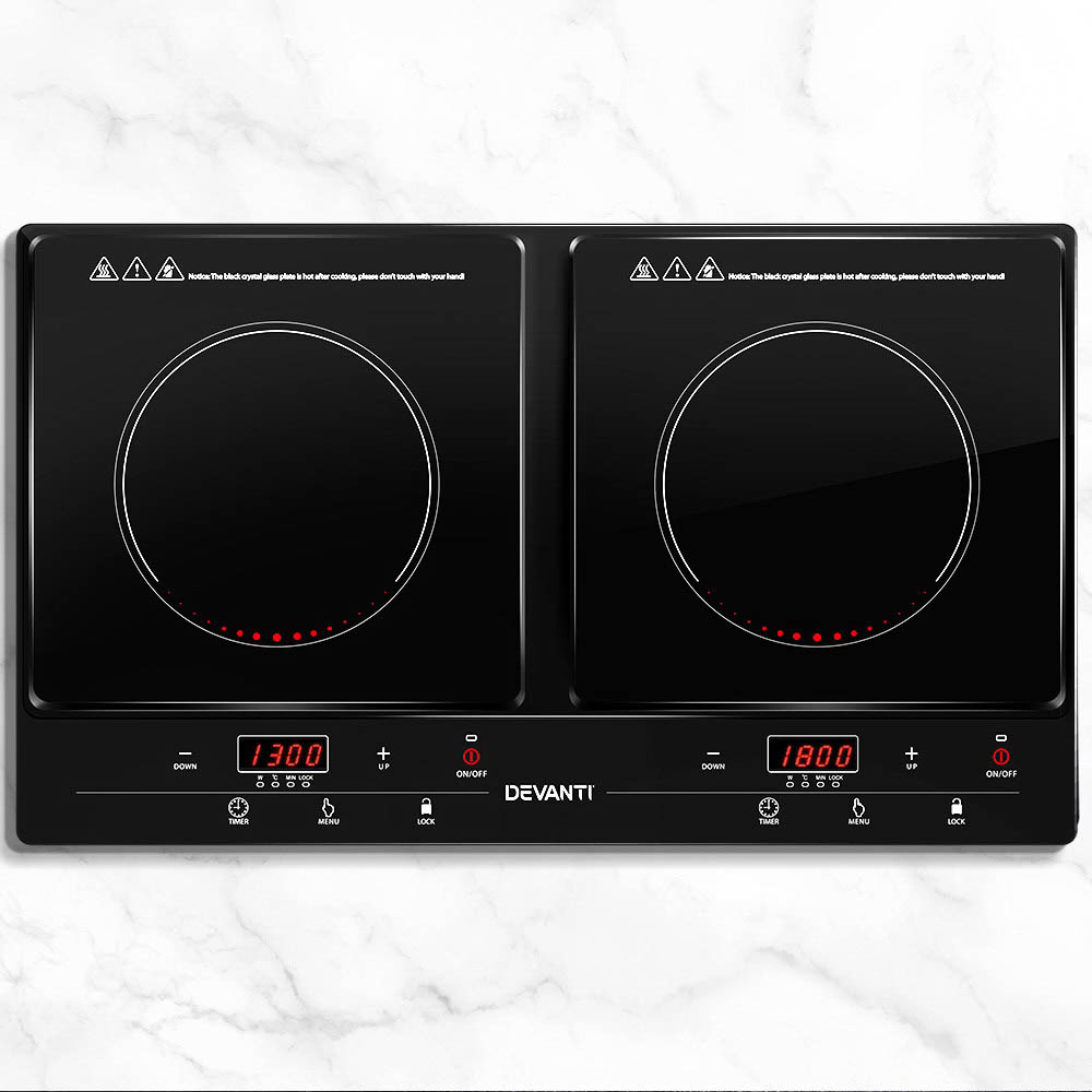 H M S Remaining 5 Star Chef Ceramic Electric Induction Cook Top
