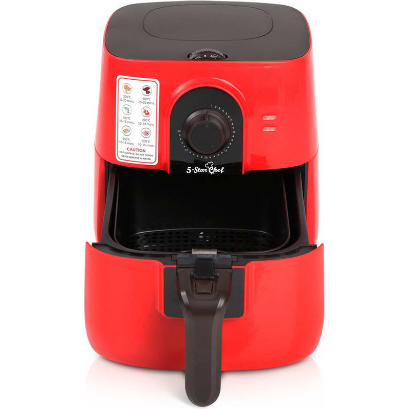 Modern multifunctional oil less air fryer in red 3l buy Modern home air fryer