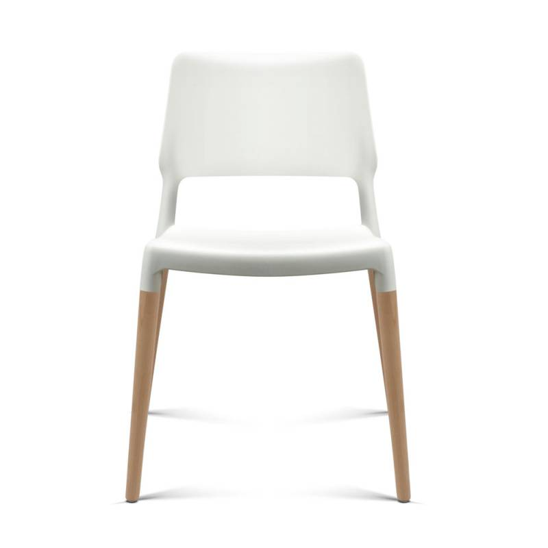 4x belloch replica dining chairs in white buy sets of 4 for Modern dining chairs australia