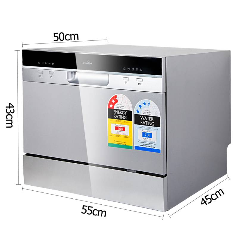 Small Table Top Countertop Stand Alone Dishwasher Mydeal