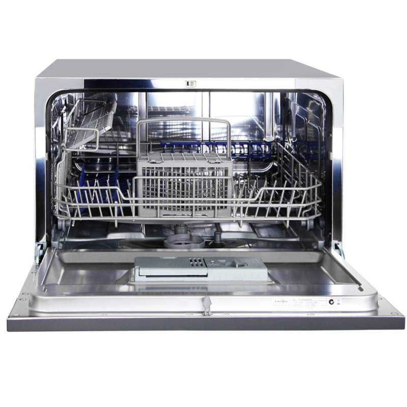 small table top countertop stand alone dishwasher