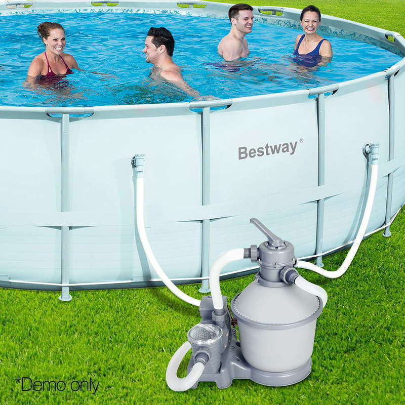 Bestway 1000 gph sand filter swimming pool cleaning pump - Cleaning sand filter swimming pool ...
