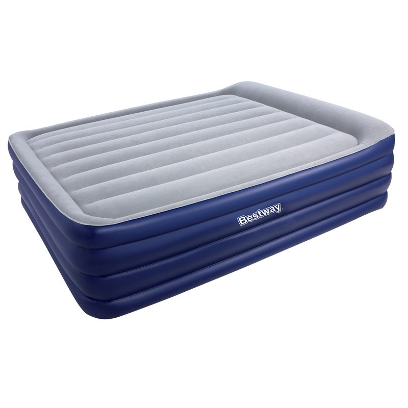 Bestway Queen Size Inflatable Air Mattress W Pump Buy Inflatable Mattresses