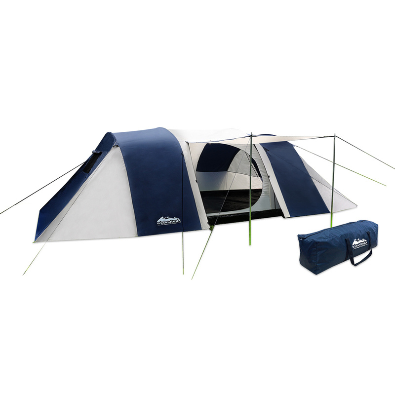 12 Person Family Dome Camping Tent With 3 Rooms