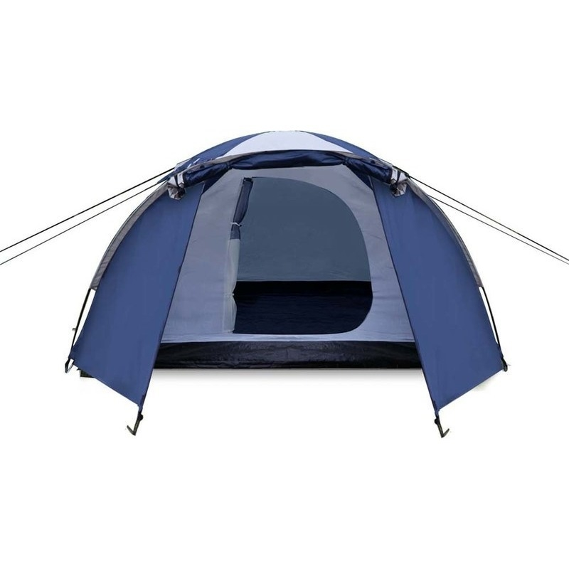 Weisshorn 4 Person Canvas Dome Camping Tent