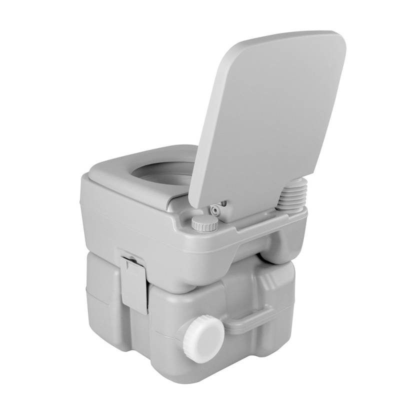 M And T Portable Toilets : Weisshorn camping pump flush portable toilet l buy