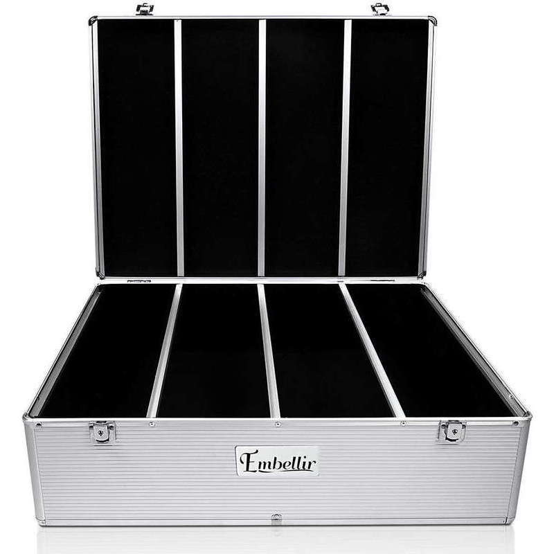 Embellir 1000 Disc Aluminium Storage Box Silver Buy