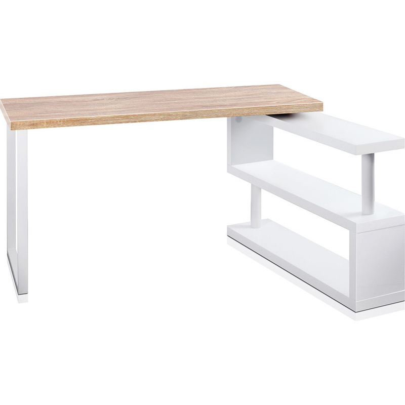 office desks corner. wood corner rotating office desk u0026 bookshelf white desks