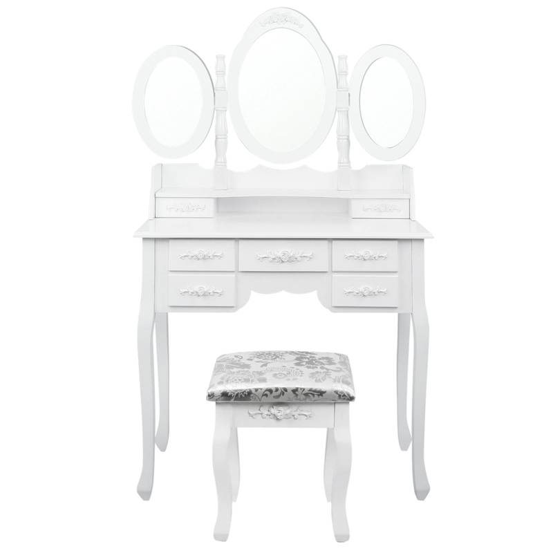 Superieur H M S Remaining. White Makeup Dressing Table ...