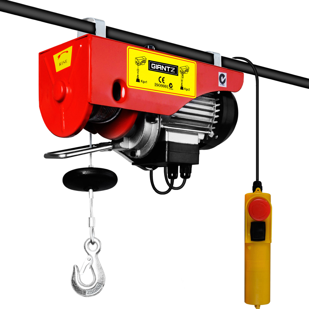 Electric Cable Winch : Electric double cable lifting hoist winch lb buy