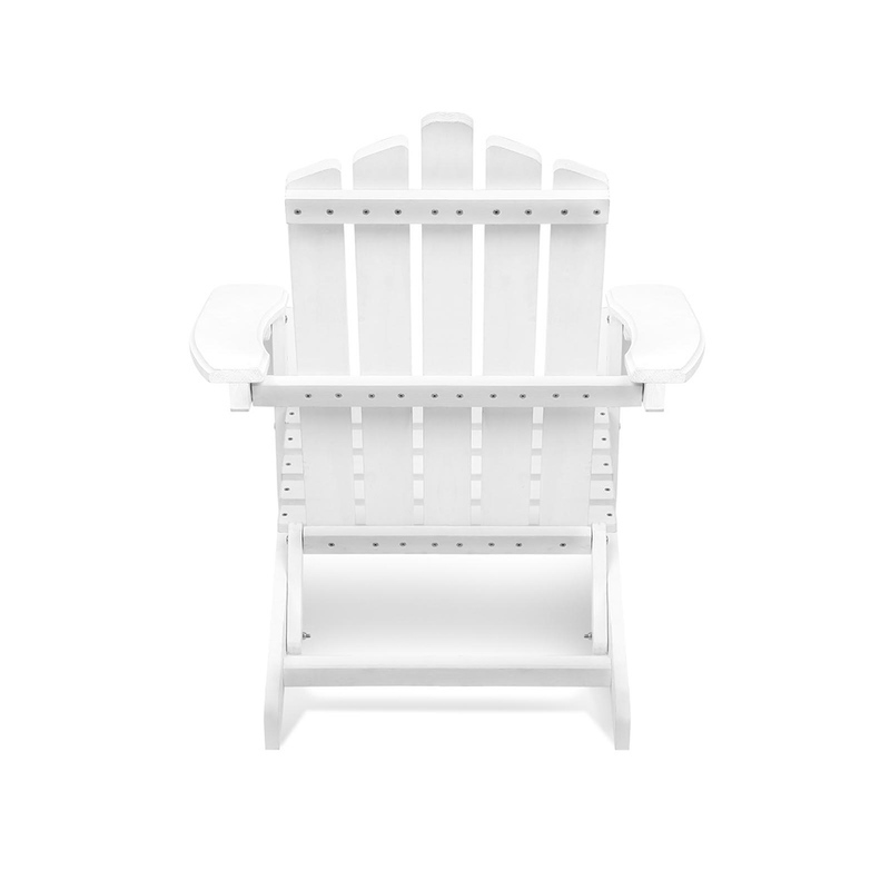 Adirondack Outdoor Deck Chair and Side Table Set