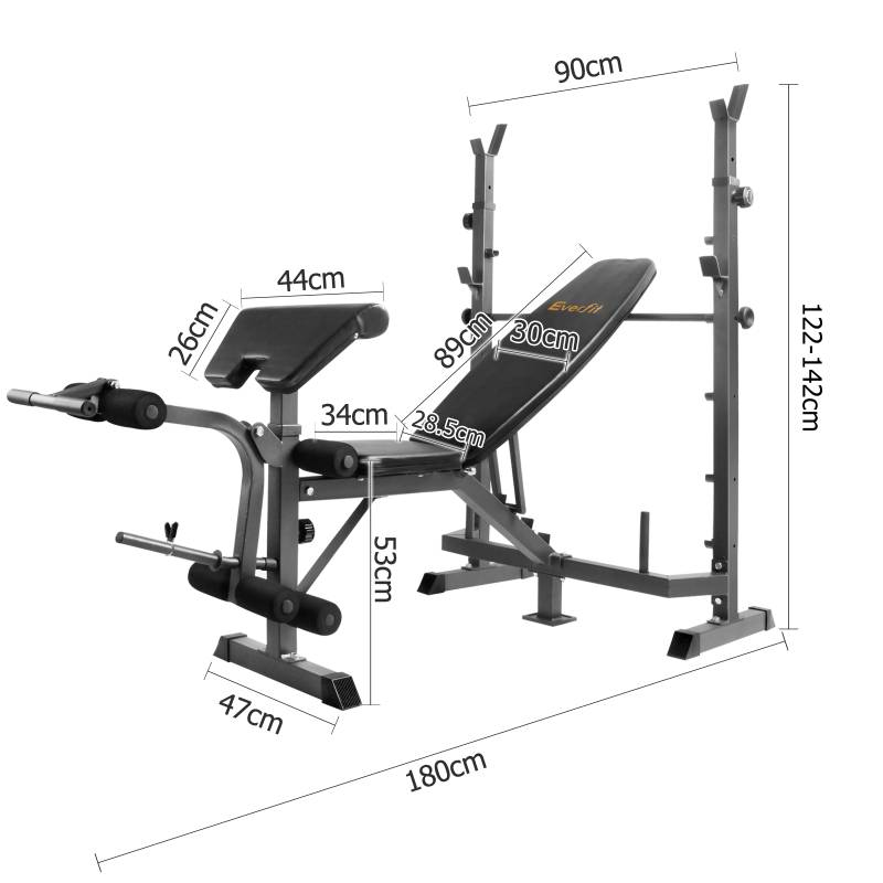 Black Multi Functional Fitness Weight Bench Buy Weight
