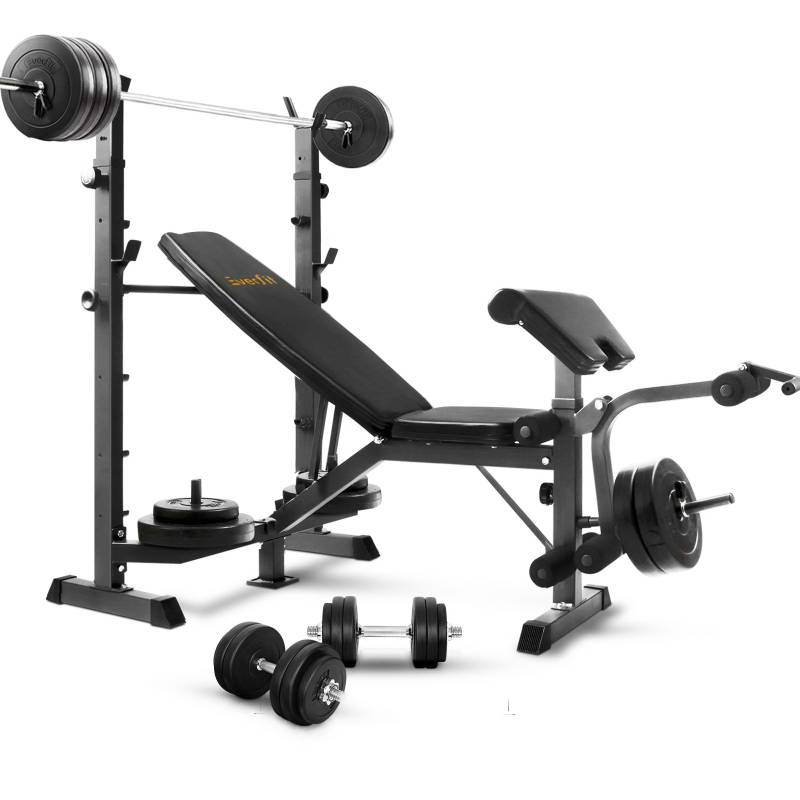 Black Multi Functional Fitness Weight Bench Buy Weight Benches