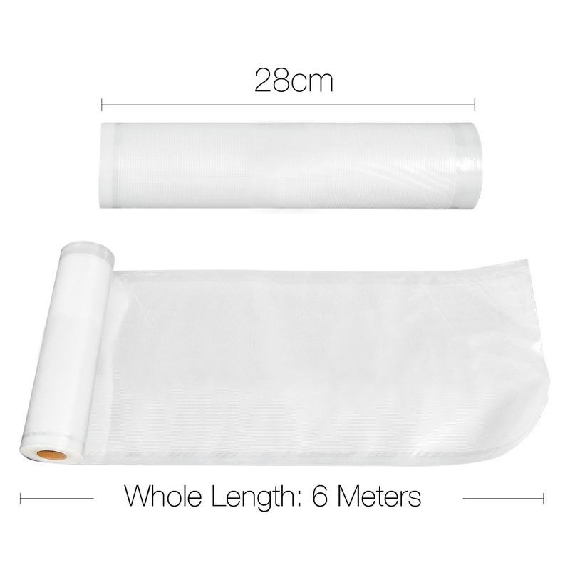 6pc Food Sealer Roll 28cm X 6m Buy Vacuum Sealer Rolls